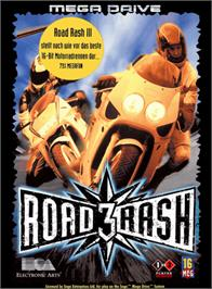 Box cover for Road Rash 3: Tour De Force on the Sega Genesis.