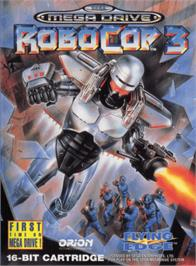 Box cover for Robocop 3 on the Sega Genesis.