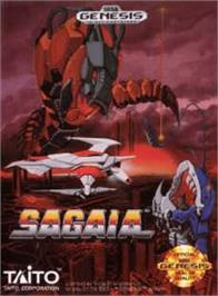 Box cover for Sagaia on the Sega Genesis.