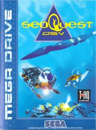 Box cover for SeaQuest DSV on the Sega Genesis.