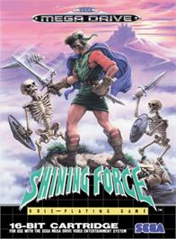 Box cover for Shining Force: The Legacy of Great Intention on the Sega Genesis.