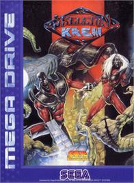 Box cover for Skeleton Krew on the Sega Genesis.