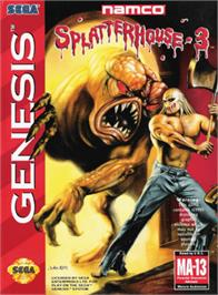 Box cover for Splatter House 3 on the Sega Genesis.