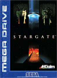 Box cover for Stargate on the Sega Genesis.