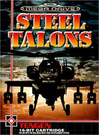 Box cover for Steel Talons on the Sega Genesis.