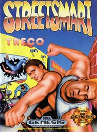 Box cover for Street Smart on the Sega Genesis.