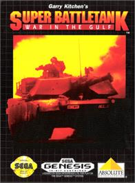 Box cover for Super Battletank: War in the Gulf on the Sega Genesis.