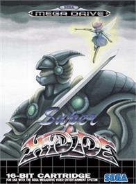 Box cover for Super Hydlide on the Sega Genesis.