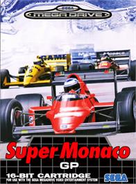Box cover for Super Monaco GP on the Sega Genesis.