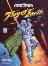 Box cover for Target Earth on the Sega Genesis.