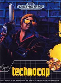 Box cover for Techno Cop on the Sega Genesis.