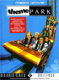 Box cover for Theme Park on the Sega Genesis.