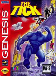 Box cover for Tick, The on the Sega Genesis.