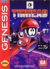 Box cover for Tin Head on the Sega Genesis.
