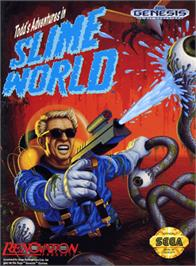 Box cover for Todd's Adventures in Slime World on the Sega Genesis.