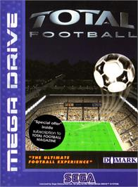 Box cover for Total Football on the Sega Genesis.