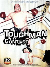 Box cover for Toughman Contest on the Sega Genesis.