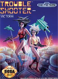 Box cover for Trouble Shooter on the Sega Genesis.