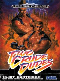 Box cover for Two Crude Dudes on the Sega Genesis.