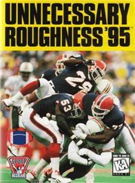 Box cover for Unnecessary Roughness '95 on the Sega Genesis.