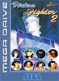 Box cover for Virtua Fighter 2 on the Sega Genesis.