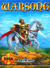 Box cover for Warsong on the Sega Genesis.