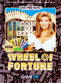 Box cover for Wheel Of Fortune on the Sega Genesis.