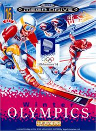 Box cover for Winter Olympics: Lillehammer '94 on the Sega Genesis.