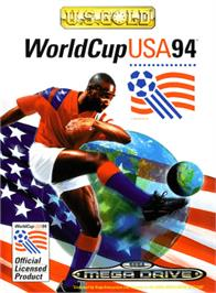 Box cover for World Cup USA '94 on the Sega Genesis.