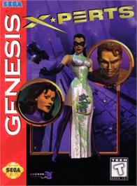 Box cover for X-Perts on the Sega Genesis.