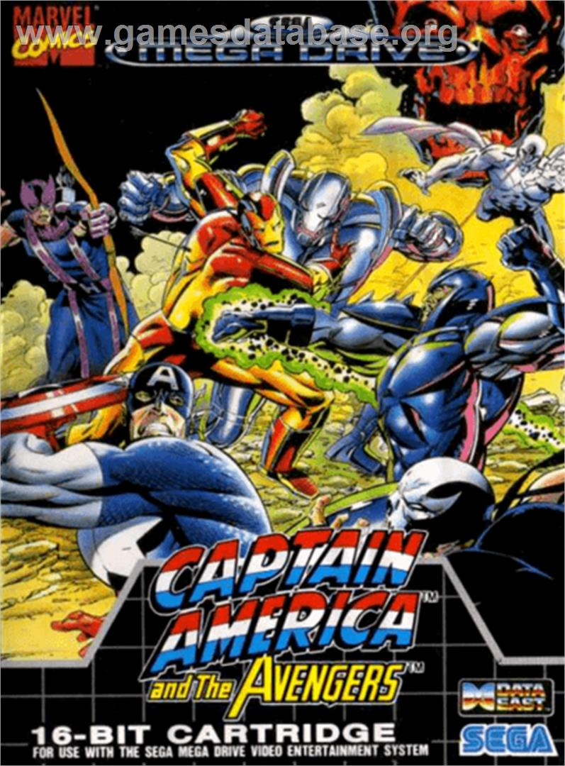 Captain America And The Avengers Sega Genesis Games
