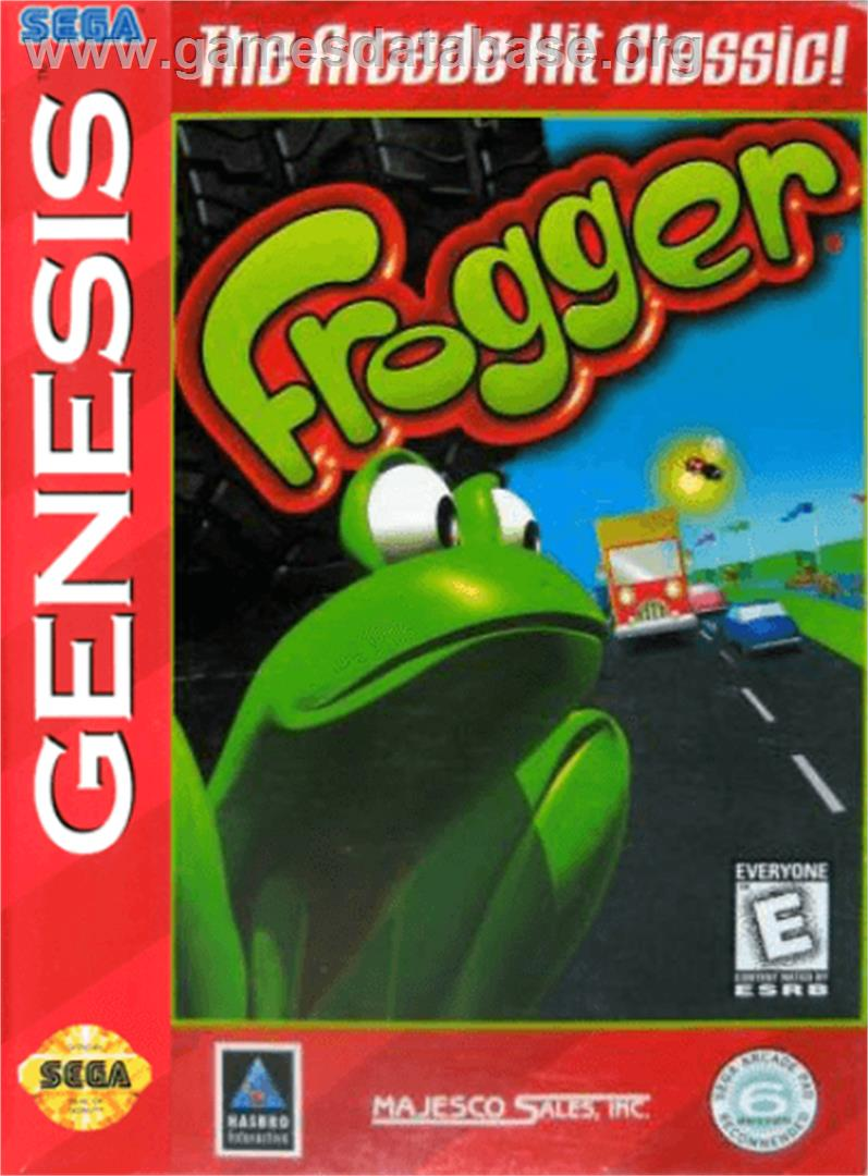 Frogger - Sega Genesis - Artwork - Box