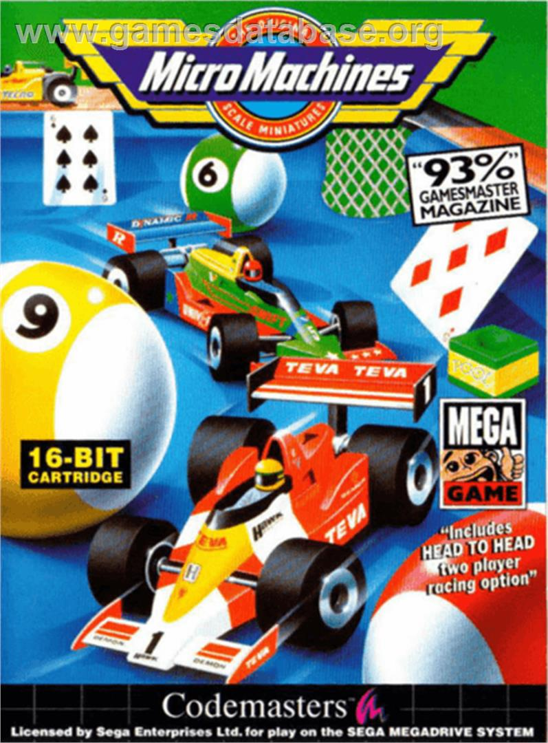 cover for Micro Machines: Military - It's a Blast on the Sega Genesis