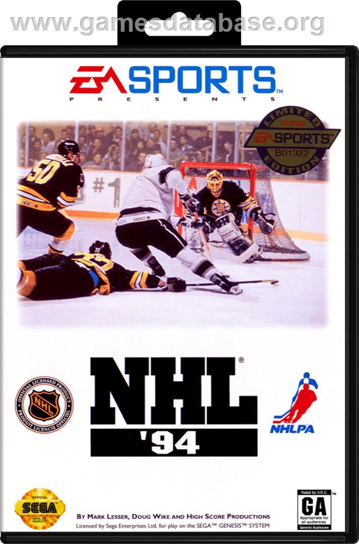 NHL '94 - Sega Genesis - Games Database