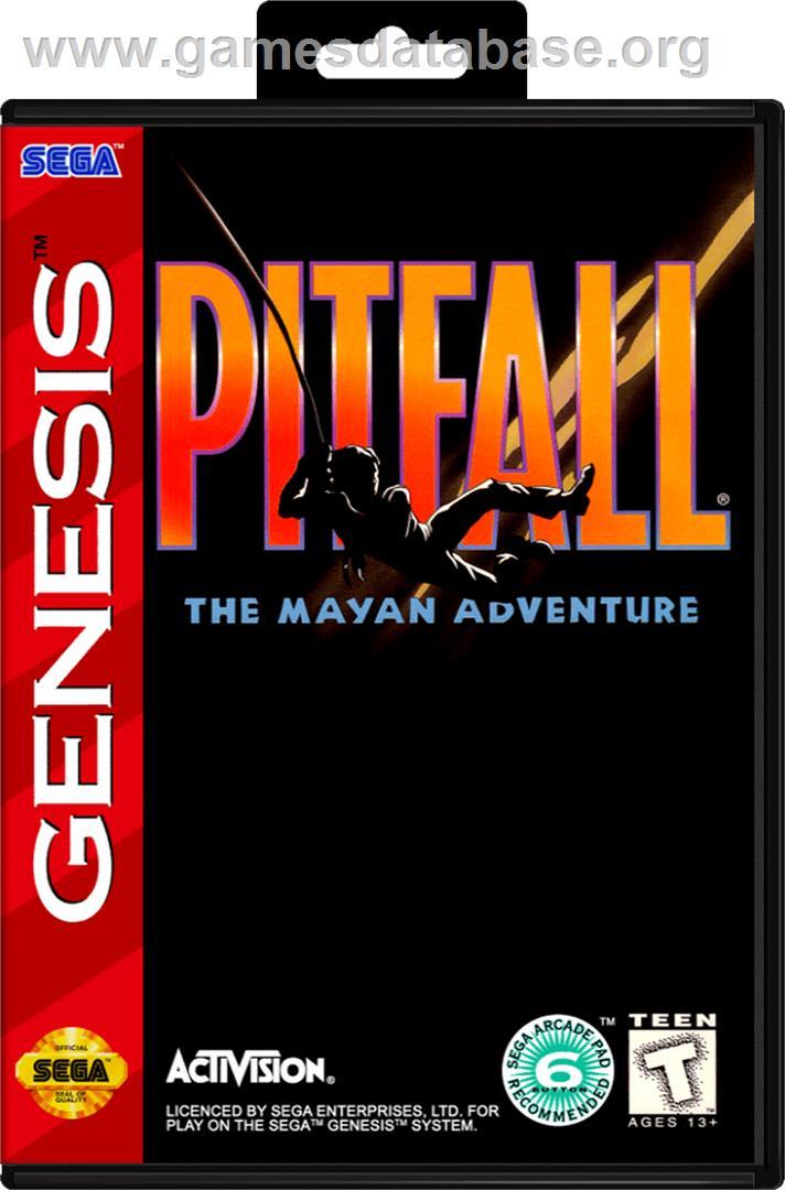 Pitfall The Mayan Adventure Sega Genesis Games Database