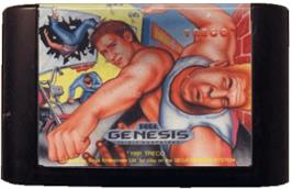 Cartridge artwork for Street Smart on the Sega Genesis.