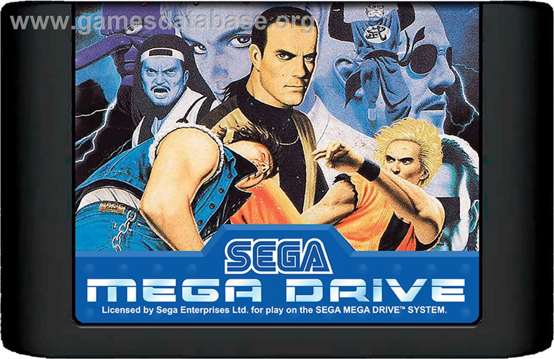 Art Of Fighting Ryuuko No Ken Sega Genesis Artwork Cartridge