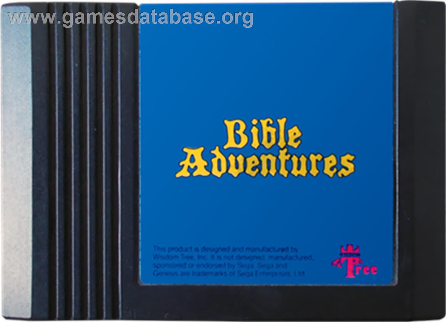 Bible Adventures - Sega Genesis - Artwork - Cartridge