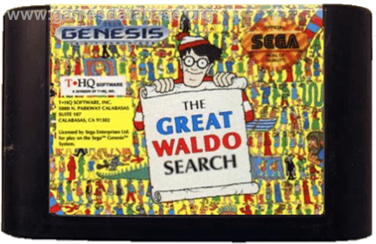 The Great Waldo Search (video game)