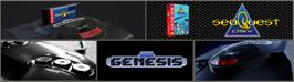 Arcade Cabinet Marquee for SeaQuest DSV.
