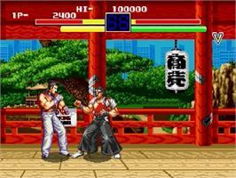 Art Of Fighting Ryuuko No Ken Sega Genesis Games Database