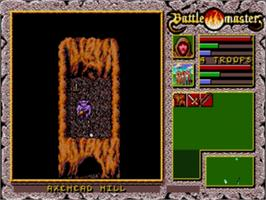 In game image of Battle Master on the Sega Genesis.