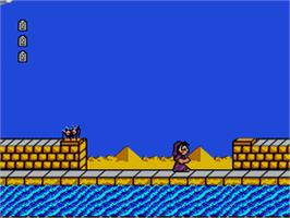 In game image of Bible Adventures on the Sega Genesis.