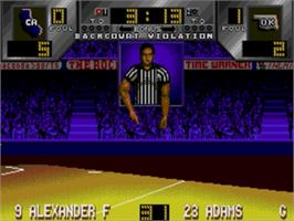In game image of Dick Vitale's