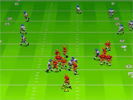 In game image of EA Sports Double Header on the Sega Genesis.
