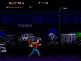 In game image of Last Action Hero on the Sega Genesis.