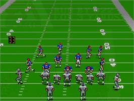 In game image of Madden NFL '94 on the Sega Genesis.