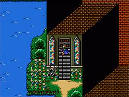 In game image of Shining Force: The Legacy of Great Intention on the Sega Genesis.