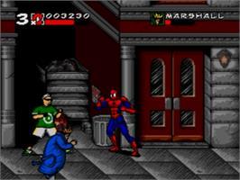 Spider Man Venom Maximum Carnage Sega Genesis Games Database