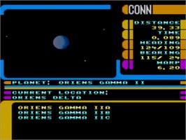 In game image of Star Trek The Next Generation - Echoes from the Past on the Sega Genesis.